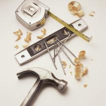 Handwerksunternehmen, Werkzeuge, Silberschmied